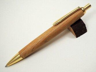 ケヤキのボールペン(太軸)の画像