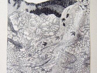 つくもおうじょ たつたひめ 綿サテンハンカチの画像