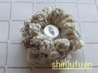 【Sold】お花畑のコサージュ41の画像