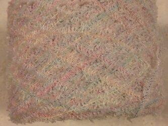 手染め糸 ふわふわモール 淡いパステル系 418㉑ 83gの画像