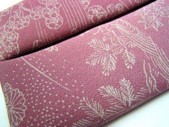 絹のティッシュケース 小紋から作りました(7)の画像