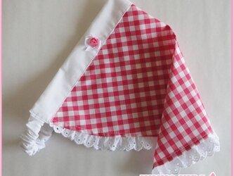 お嬢様の三角巾−子供用の画像