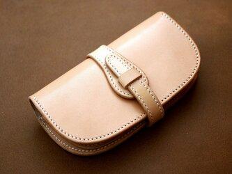 本革サドルレザーの長財布ベルトタイプ【受注製作】の画像