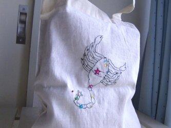 12星座の刺繍バッグの画像