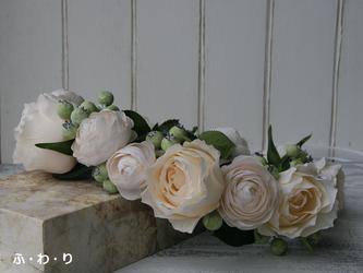 花冠 ローズとラナンキュラスの画像