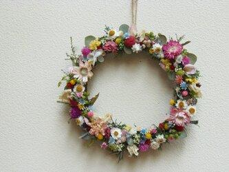 野の花リース IIの画像