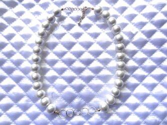 コットンパールネックレスの画像
