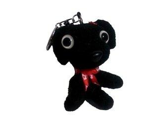 クロパグ☆わんちゃんキーホルダー!!お洒落な犬のオリジナル人形の画像