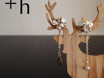 再販【ピアス】Gem pierced earrings WTの画像