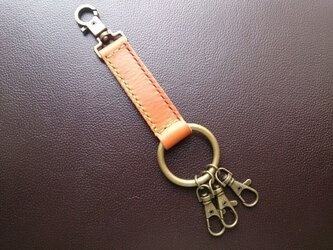 Key Holder  ◇イタリアンレザーの画像