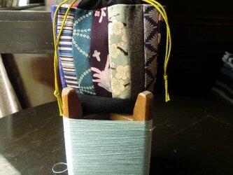 錦紗つなぎの巾着袋 -その壱ーの画像