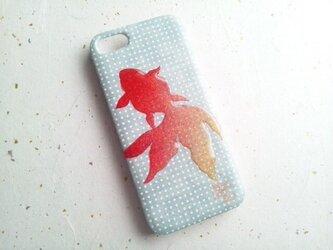 Wacon友禅和紙iPhone5/5sカバー[涼み]Ⅰの画像