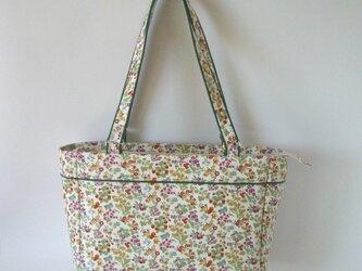 リバティ  ナンシーアン 帆布のバッグの画像