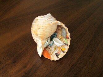 貝がら ミニチュア アヒルちゃんの画像