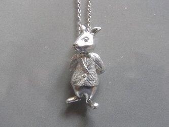 ウサギの紳士の画像