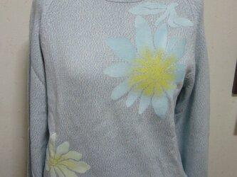 型染めのセーターの画像