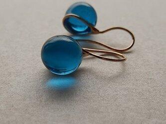 Teardrop - blueの画像