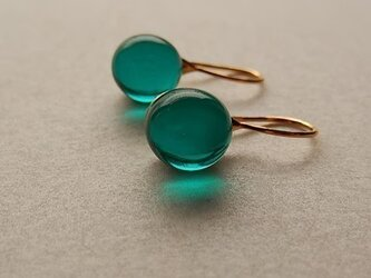 Teardrop - emerald greenの画像