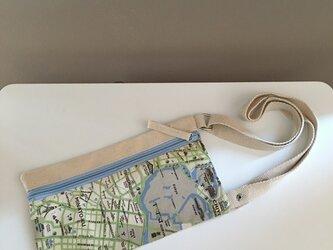 キャンバストートマップ エアチケットポーチ 東京の画像