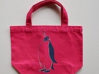 ペンギントートバッグ、ペンギン、penguin, 送料無料の画像