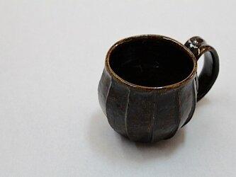 No.a-02 飴釉面取マグカップ(再出品)の画像