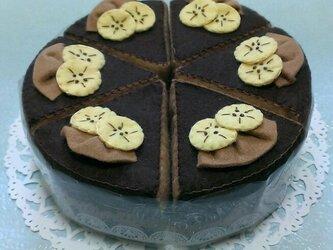 チョコバナナケーキの画像