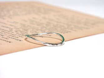 Silver curve ring(シルバーカーブリング)の画像