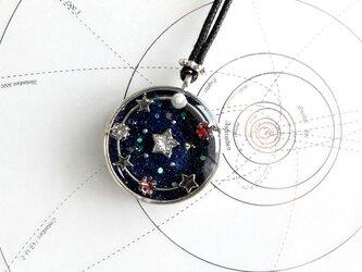 ロングネックレス・星めぐりの歌の画像