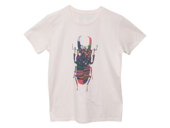 4.3oz Tシャツ lightpink S クワガタの画像