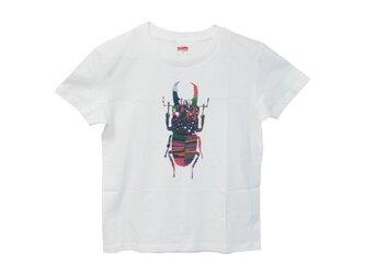 6.2oz Tシャツ GM(Girls-M) クワガタの画像