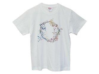 6.2oz Tシャツ white S 22の画像