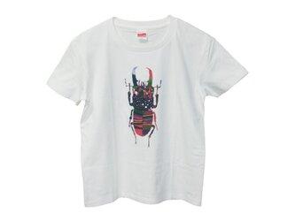 6.2oz Tシャツ GL(Girls-L) クワガタの画像