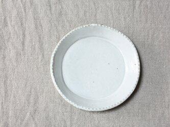 gizagizaリム皿(小/白)の画像