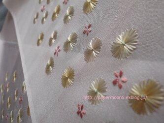 半襟「丸菊」の画像