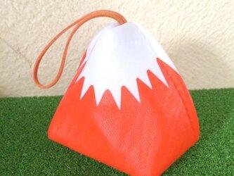 おむすび入れ(赤富士)ナイロンオックスの画像