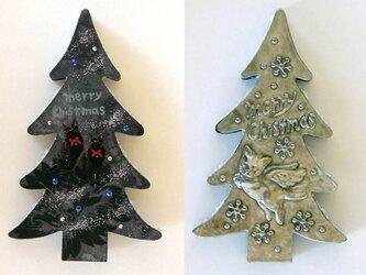 猫のクリスマスツリー1の画像