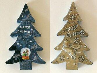猫のクリスマスツリー2の画像