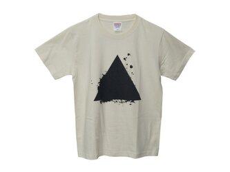 6.2oz Tシャツ naturals S サンカクの画像