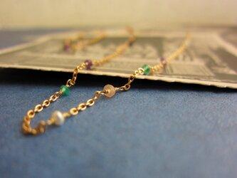 花咲く甍のネックレスの画像