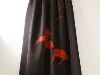 生地お持ち込みオーダー品 タックギャザーゴムスカート Fサイズ の画像
