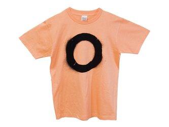 5.6oz Tシャツ light orange S まるの画像