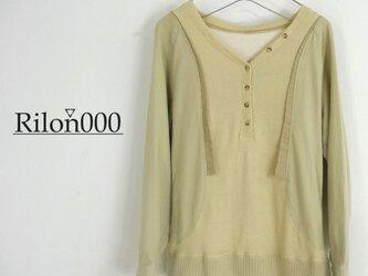 ≪リメイク1点物≫切り替えカットソーシャツ:M Sizeの画像