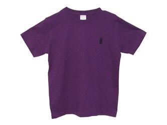 6.2oz Tシャツ violet S クワガタ3の画像