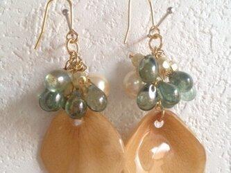 earrings flower 2の画像