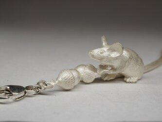 mouse & acorn pendantの画像