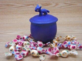 キャンディーBOX・コバルトブルー・ネコAの画像