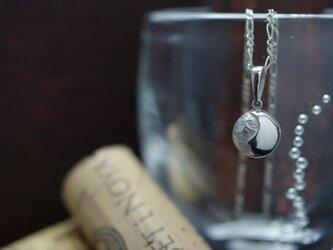 full moon necklace (SV×SV)の画像