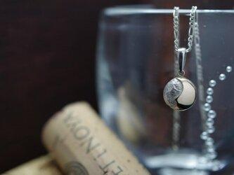 full moon necklace (K10×SV)の画像