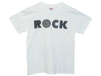 6.2oz Tシャツ white S ROCK-Bの画像