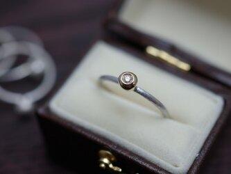 drop ring K18×SVの画像